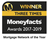 Moneyfacts Awards 2017, 2018, 2019 Openwork Winner